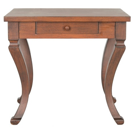 Colman Side Table With Storage Brown - Safavieh® - image 1 of 5