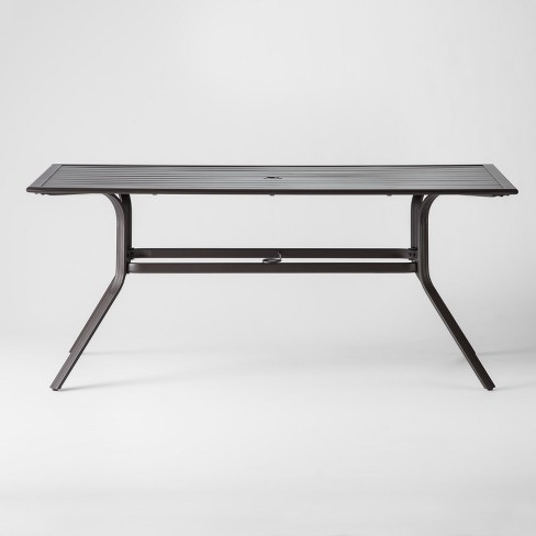 Marrion Rectangle Patio Dining Table - Threshold™ - image 1 of 4