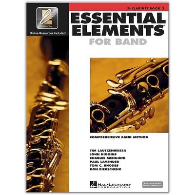 Hal Leonard Essential Elements for Band - Bb Clarinet 2 Book/Online Audio