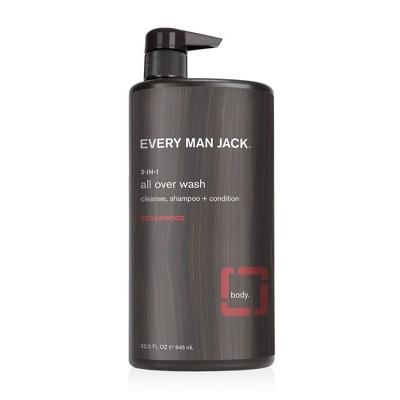 Every Man Jack Cedarwood 3-in-1 All Over Wash - 32 fl oz