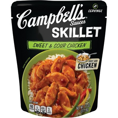 Campbell's Skillet Sauces Sweet & Sour Chicken 11oz