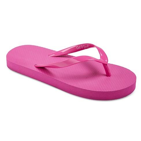 8ef0a8cd6a2 Girls  Hilary Flip Flop Sandals Cat   Jack™   Target