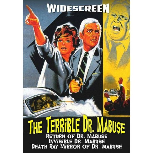 The Terrible Dr. Mabuse Collection (DVD) - image 1 of 1