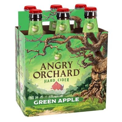 Angry Orchard Green Apple Hard Cider - 6pk/12 fl oz Bottles