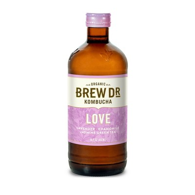 Brew Dr. Kombucha Love - 14 fl oz