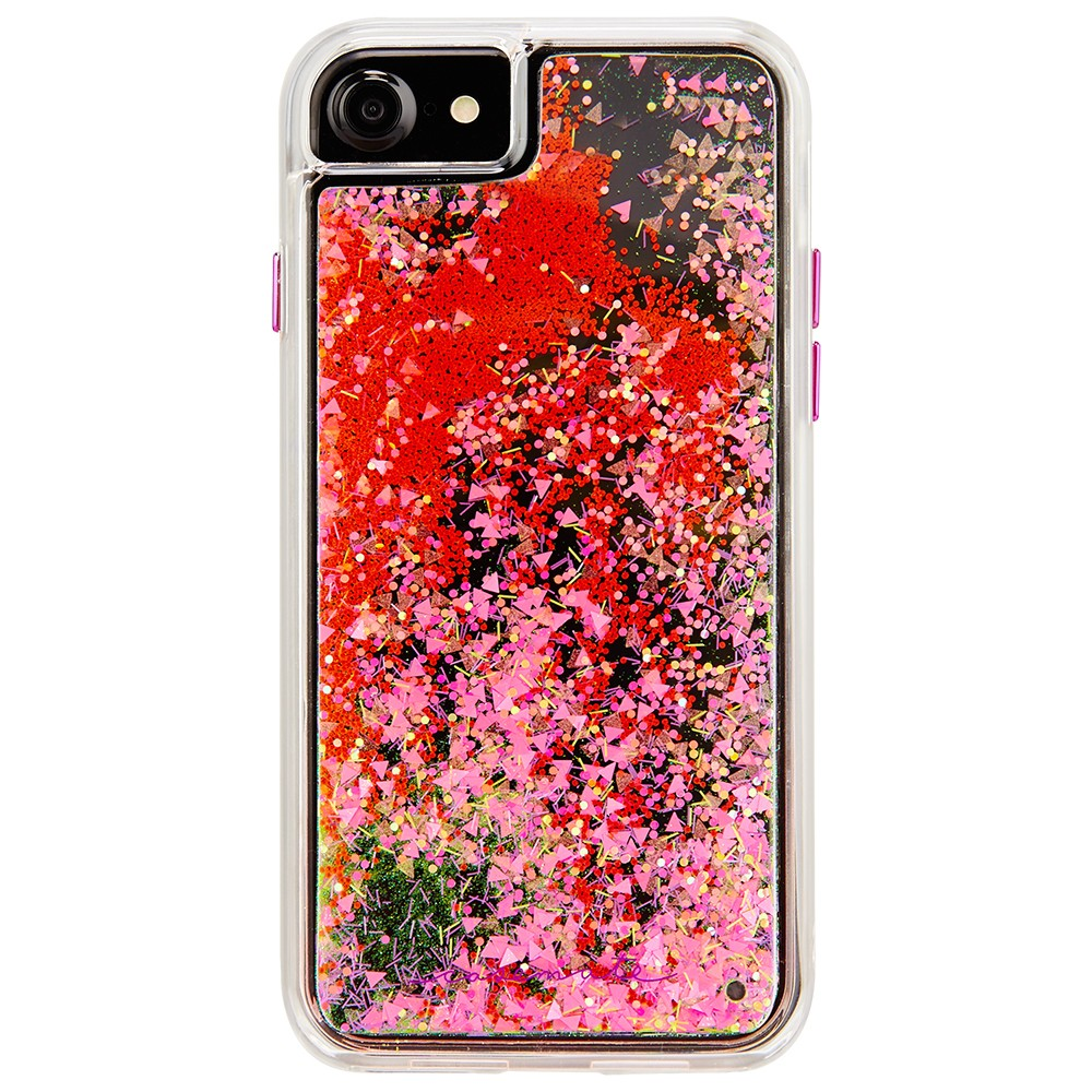Case-Mate Apple iPhone 8/7/6s/6 Case Waterfall Glow - Pink, Clear