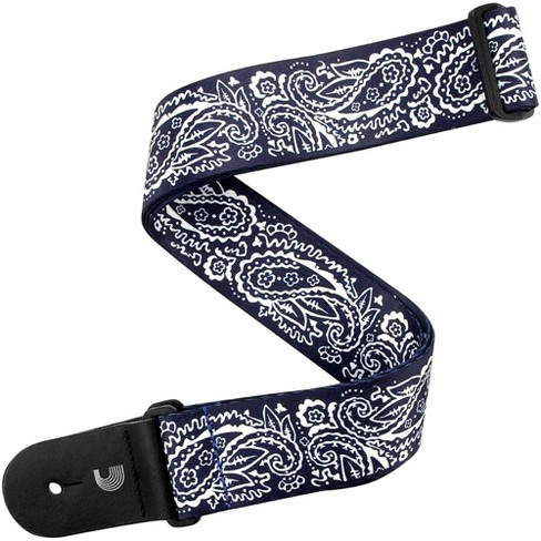 """D'Addario Planet Waves 2"""" Woven Guitar Strap, Paisley, by D'Addario Blue - image 1 of 3"""