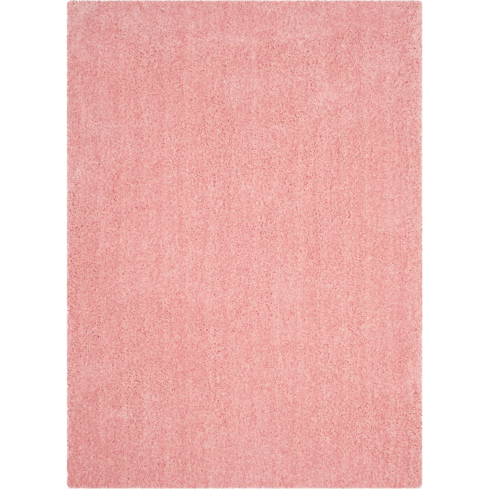 5 39 X7 39 Solid Tufted Area Rug Pink Safavieh