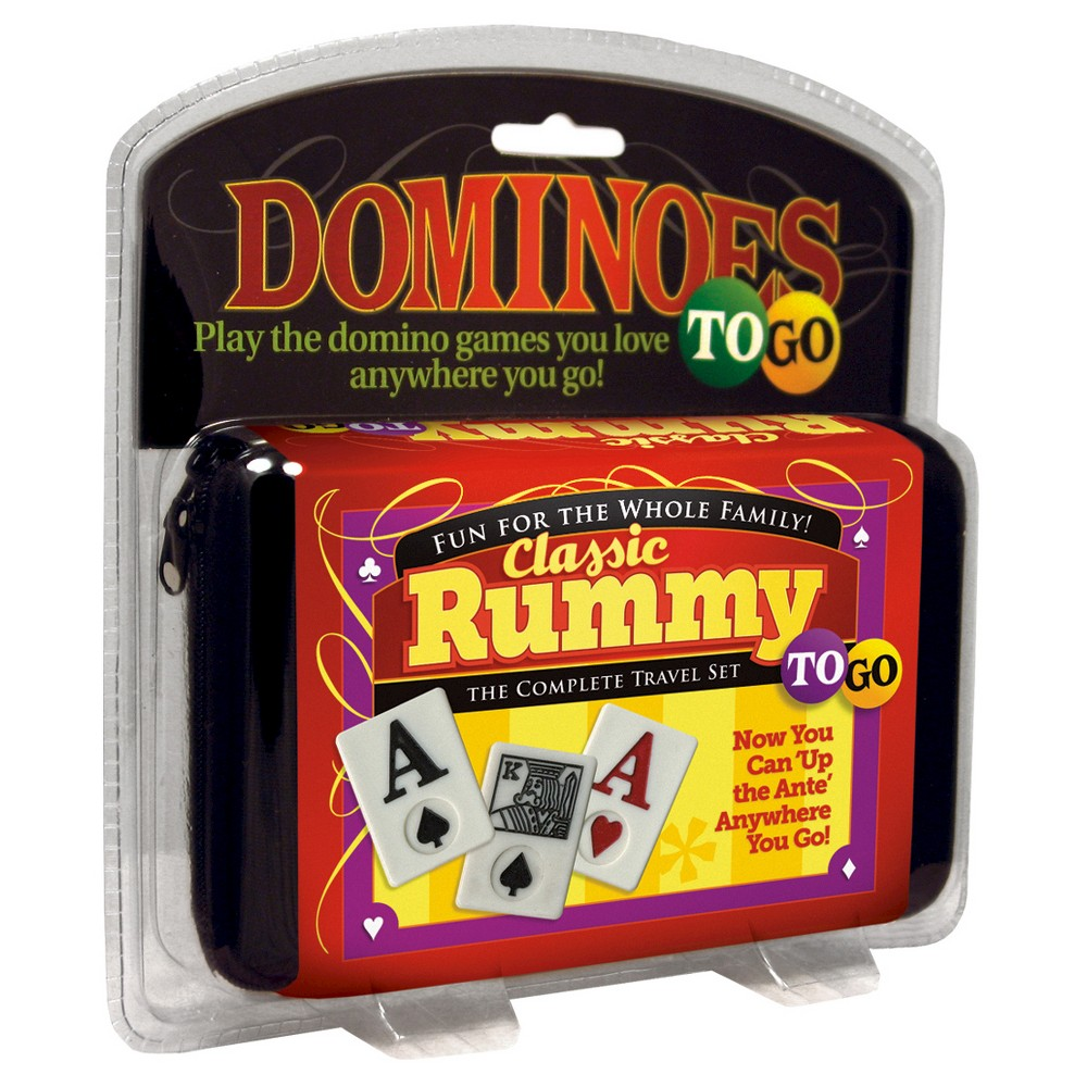 Puremco Classic Rummy To Go Travel Game