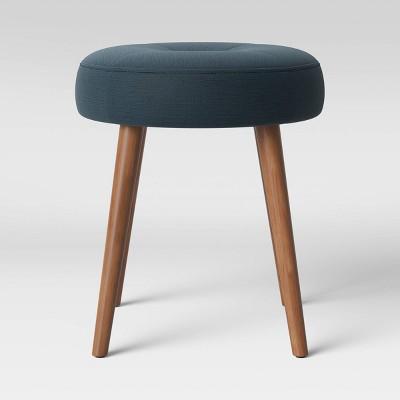Norbury Scandinavian Wood Leg Ottoman - Project 62™