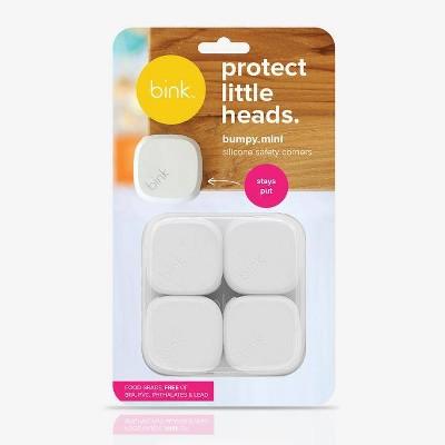 Bink Bumpy Silicone Safety Corners - White 4pk