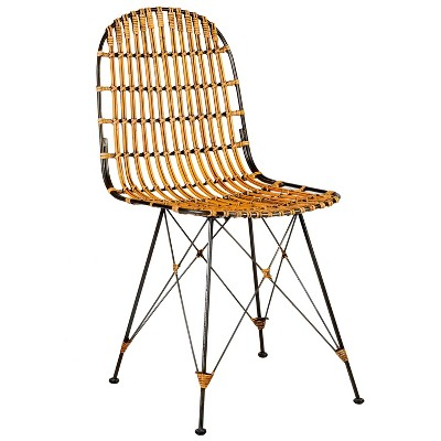 Dover Rattan Dining Chair Brown - East At Main