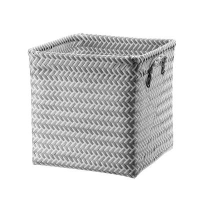 Cube Storage Bin 13  Cube White - Room Essentials™