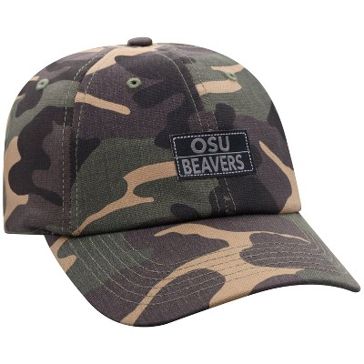 NCAA Oregon State Beavers Men's Camo Washed Relaxed Fit Hat