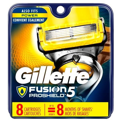 Gillette Fusion5 ProShield Men's Razor Blade Refills - 8ct