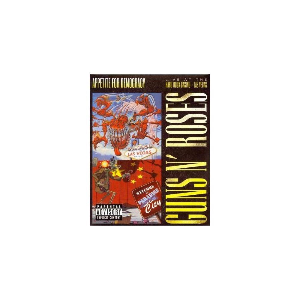 Guns N Roses Appetite For Democracy 2 Cd Blu Ray T Shirt Bundle Explicit Lyrics