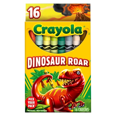 Crayola® Pick Your Pack Crayons, 16ct - Dinosaur Roar - image 1 of 1