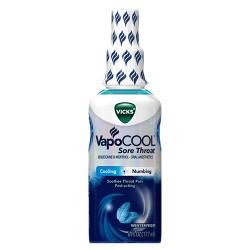Vicks VapoCOOL Sore Throat Spray - Winterfrost - 6 fl oz