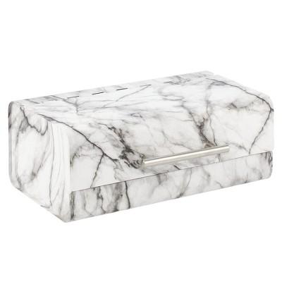 mDesign Metal Kitchen Countertop Bread Box, Home Storage Bin