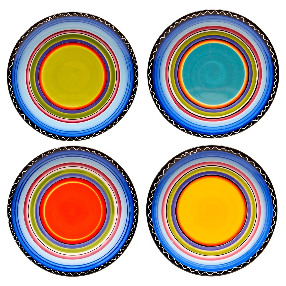 Dinner Plate 11 Tequila Sunrise Set of 4 - Certified International