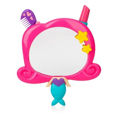Nuby Mirror Bath Toy Set - Mermaid