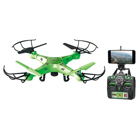 Striker Glow-in-the-Dark Live Feed WiFi 4.5CH 2.4GHz RC Camera Spy Drone - image 1 of 1