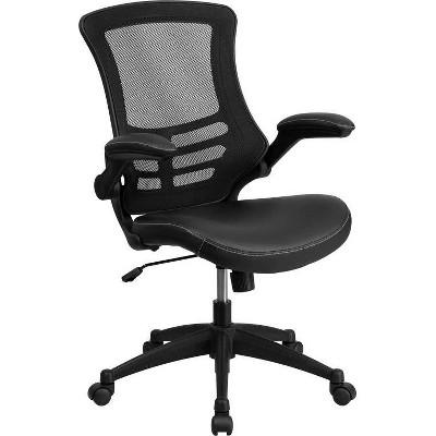 Mid Back Mesh Swivel Ergonomic Task Office Chair - Riverstone Furniture