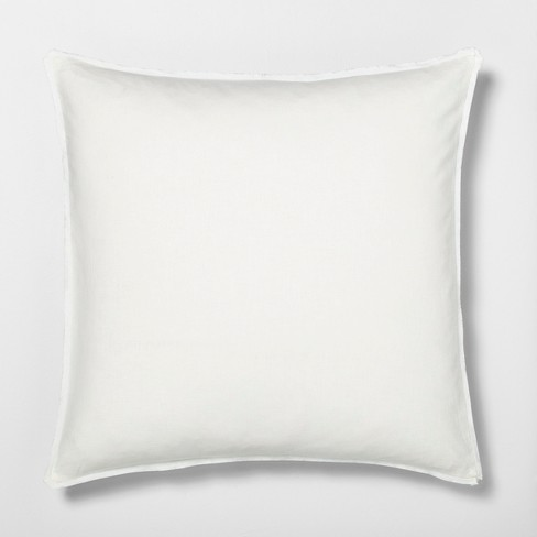 Solid Linen Blend Euro Pillow Sham Hearth Hand With Magnolia Target
