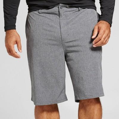 "Men's Big & Tall Rotary Hybrid Shorts 10.5"" - Goodfellow & Co™ Black"