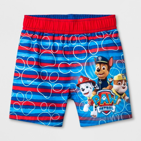 ed42bf7ab8ebb Toddler Boys' PAW Patrol Swim Trunks - Blue : Target