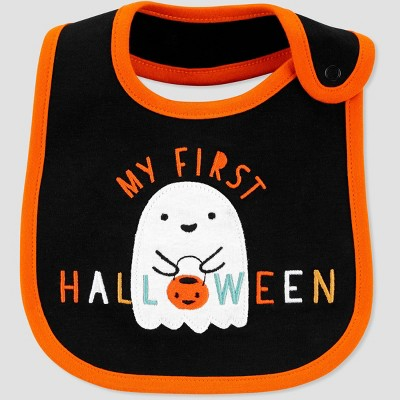 Baby My First Halloween Bib - Just One You® made by carter's Black
