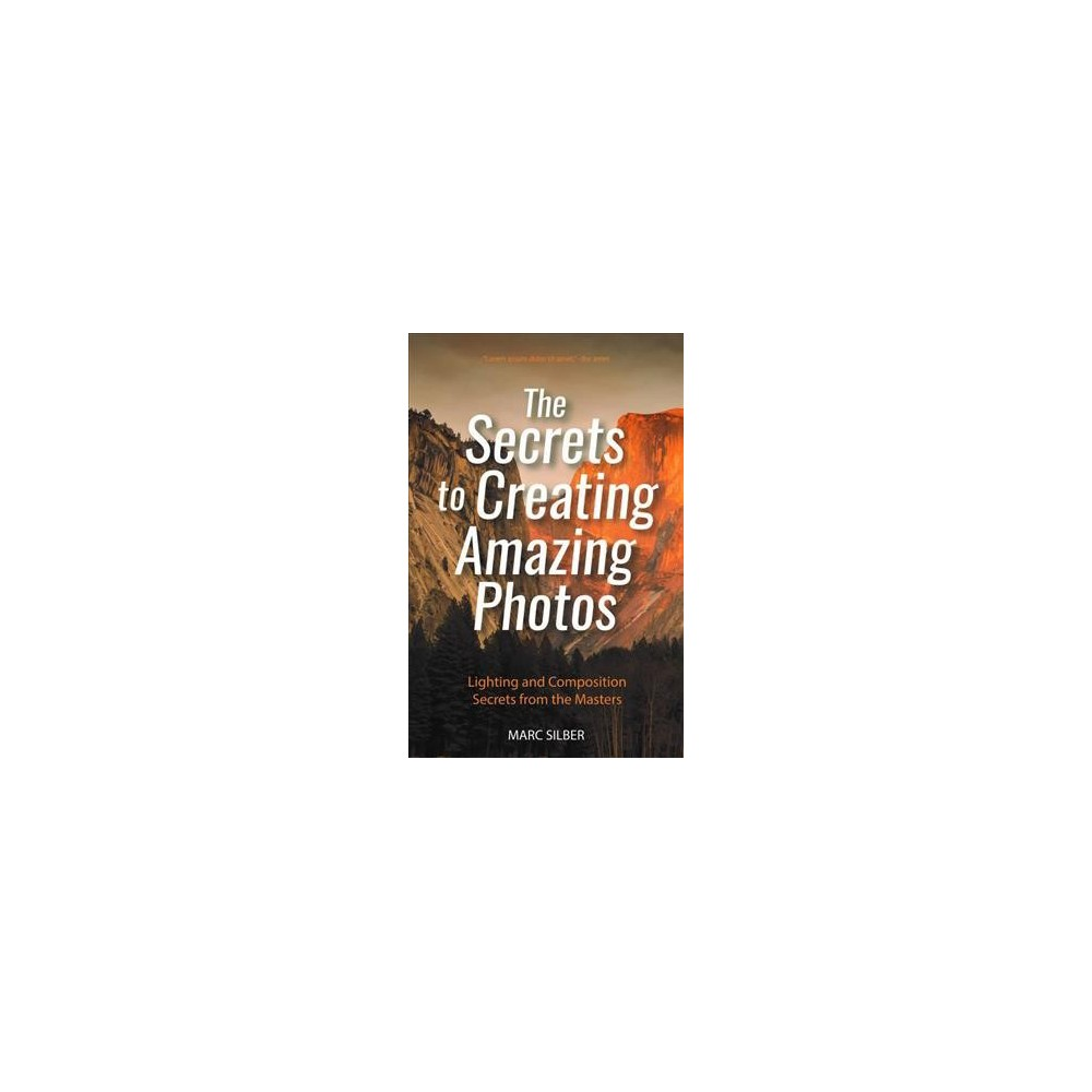 Secrets to Creating Amazing Photos : 85 Composition Tools from the Masters - by Marc Silber (Paperback)