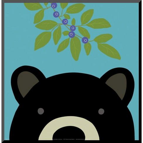 Art.com - Peek-a-Boo Bear Mounted Print - image 1 of 1