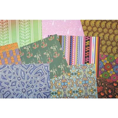 Roylco Around the World Assorted Design Textile Paper