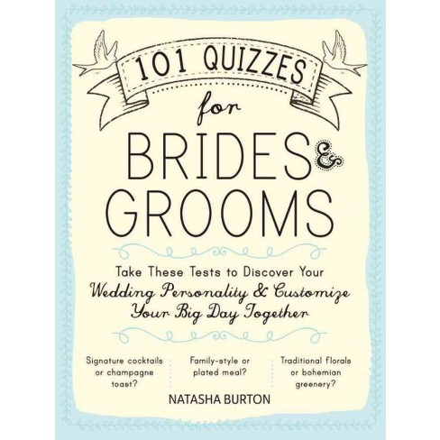 101 quizzes for brides grooms take these tests to discover your