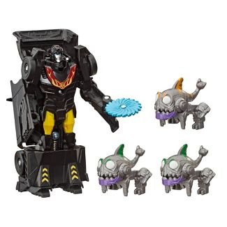 Transformers Toys Bumblebee Cyberverse Adventures Sharkticons Attack