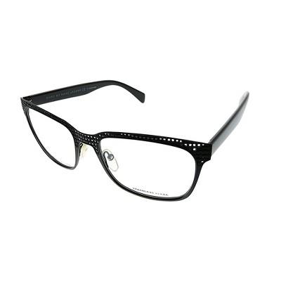 Marc by Marc Jacobs  MPZ Unisex Square Eyeglasses Matte Black Weave 53mm