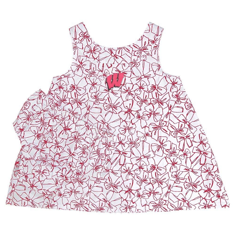 NCAA Wisconsin Badgers Girls' Infant Dress - 12 M, Girl's, Size: Medium