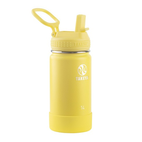 Takeya Actives 14oz Insulated Stainless Steel Water Bottle with Insulated Straw Lid - image 1 of 5