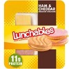 Oscar Mayer Lunchables Ham & Cheddar with Cracker Stackers - 3.5oz - image 2 of 2