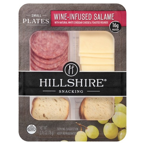 Hillshire Farms Wine Infused Salame Cheese and Crackers Small Plates 2.96 oz - image 1 of 3