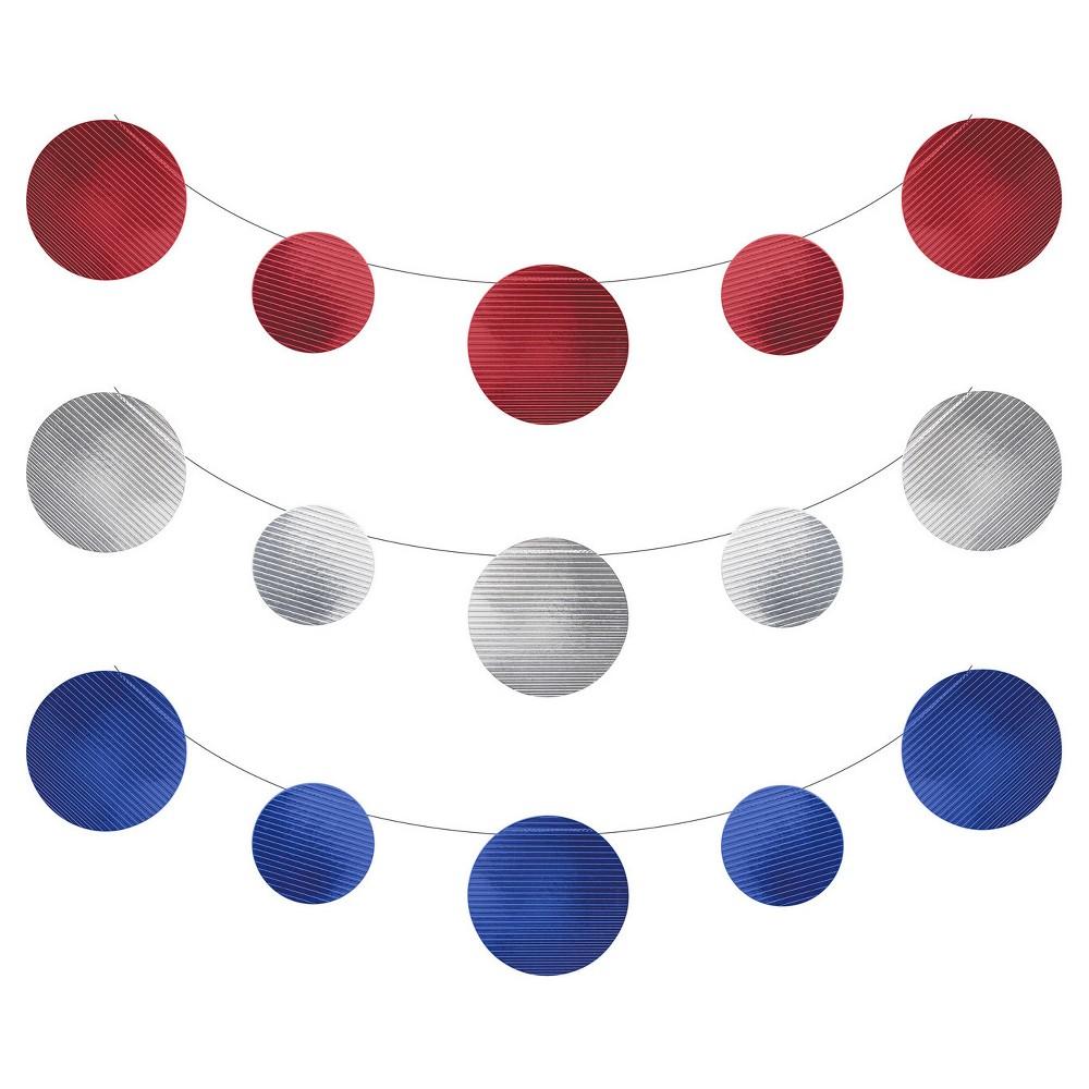 Patriotic Foil Banner Kit, Red
