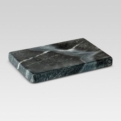 Marble Soap Dish Black - Threshold™