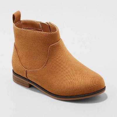 Toddler Girls' Onyx Zipper Slip-On Chelsea Boots - Cat & Jack™