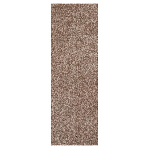Bliss Beige Heather Shag Woven Rug - KAS - image 1 of 1