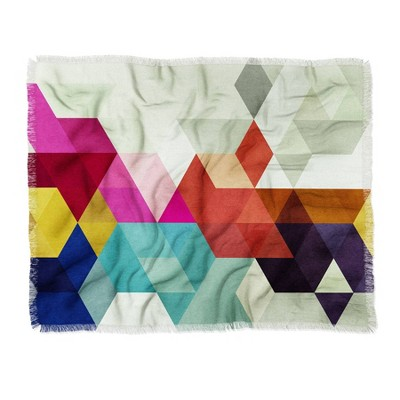 """50""""x60"""" Three of the Possessed Modele Woven Throw Blanket - Deny Designs"""