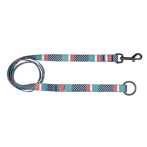 Bow & Arrow Stripe Dog Leash - Mint - image 1 of 1