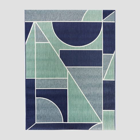 Geo Block Outdoor Rug - Project 62™ - image 1 of 4