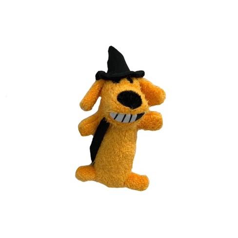 Multipet Loofa Witch Halloween Dog Toy - Orange - image 1 of 3