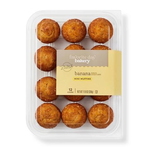 Banana Mini Muffins - 12ct - Favorite Day™ - image 1 of 3